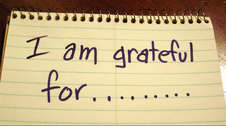 30 days to a happier you – Day 6 – A good gratitude list