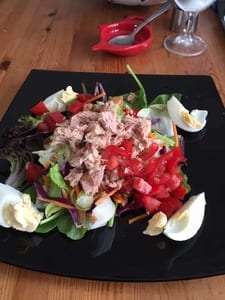 tuna salad lunch