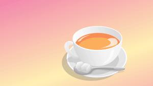 tea with 2 sugars